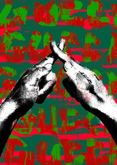 Sign language G 01 ポスター Sign Language, Art Inspo, Whale, Pop Art, Moose Art, Movie Posters, Pictures, Hands, Paintings