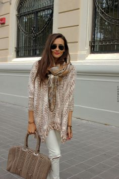 street style fall outfits womens fashion clothes style apparel clothing closet ideas. sunglasses handbag shawl