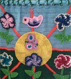 My Mother, the #Crochet #Artist
