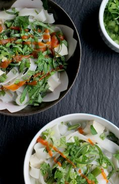 Vegetarian pho from Eats Well with Others