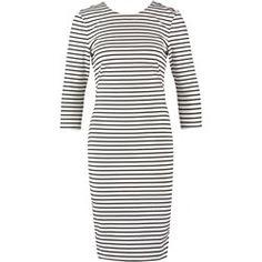 The Fifth Label NOT TO WAISTE  Sukienka z dżerseju white/black