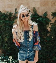 such a great boho outfit