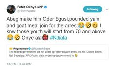 Peter Okoye replies APC over call for his arrest over ban on music videos shot abroad