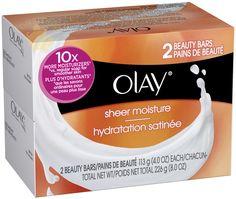 Obtenez 2 emballages de pains de savon Olay (2 x 112g) à 50¢ seulement! | TONSITE.CA | Échantillon gratuit Québec