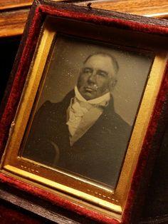 Portrait. Daguerreotype by Beard. London, c.1845. #atelierpetzval #daguerreotype #wetplate #collodion #petzval #woodencamera #brasslens