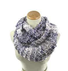 Infinity Scarf Knit Scarf Circle Scarf Snood by ArlenesBoutique