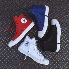 Converse Chuck Taylor All Star II Hi Collection. Available at Kith Manhattan and KithNYC.com. $75 USD each.