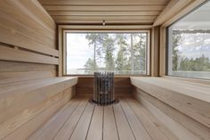 Incredible Palette Sauna Room For Winter Decoration 41 Sauna House, Sauna Room, Modern Saunas, Outdoor Sauna, Sauna Design, Finnish Sauna, Steam Sauna, Steam Room, Helsinki