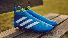 d976be48f899 2016 Adidas ACE Purecontrol FG Shock Blue Semi Solar Slime White is the  third Adidas Ace PureControl 2016 boot colorway.