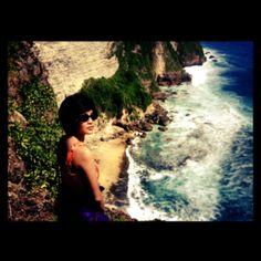 #cliff #beach #uluwatu #bali #indonesia