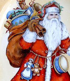 Natale e Porcellane: Babbo Natale Vittoriano