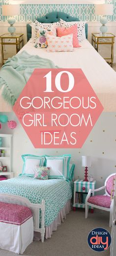 These girl room ideas give you plenty of sugar, lots of spice, and of course a dose of everything nice. Check out the top ten girl room decor ideas.