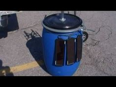 Create your own portable solar/wind-power station!