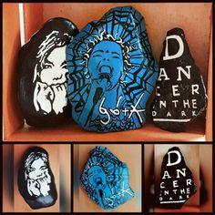 "15-10013 Handpainted ""Bjork Collection"" Rocks"