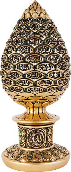 "/""NADEEM/"" Mens Arabic Name Necklace Tag Birthday Wedding Ayatul Kursi Eid Gifts"