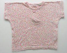 Tee-shirt manches courtes imprimé fleurs Grain de Blé 18 mois filles
