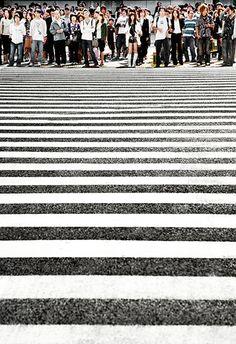 Shinjuku intersection, Tokyo, Japan