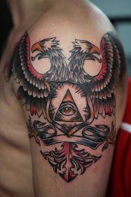 Double Headed Eagle Tattoo Eagle Tattoos Tattoos Double Headed
