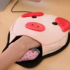 Animal Hand Warming Mouse Pad