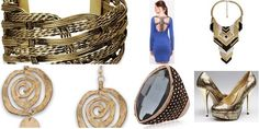 """""""Cleopatra- Live Fashion Queen Style"""" Awesome list on #clutches #neckpieces by @Meghan Mazzola.vij0gmail.com #fashion"""