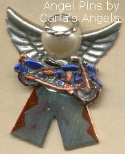 Angel Motorcycle Pin-$17.95