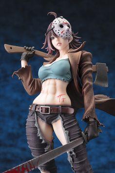 """Kotobukiya """"Miss Jason"""" Freddy vs. Jason Jason Voorhees Bishoujo Statue"""