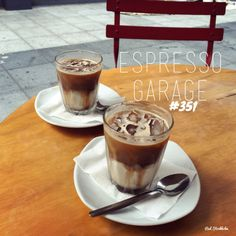 With a line out of the door of 'struggling' office workers warming into their hump day, we decided to also join the queue for a couple of iced coffees. In this sticky weather a. Brisbane, Espresso, Diabetes, Panna Cotta, Garage, Beach, Ethnic Recipes, Desserts, Cafes