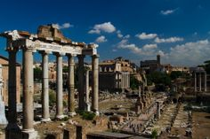 I was simply strolling around Rome when I saw this. This is the Temple of Saturn, dating back to 497BC. It lies on the foot of the Capitoline Hill. Nothing but ruins are left but sitting at the foot of those giant columns, imagining the grandeur that was, while eating an overpriced hotdog sandwich from a street vendor was surreal.
