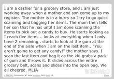 I am a cashier