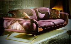 Sofa Furniture, Luxury Furniture, Metallic Paint Colors, Sofa Styling, Sofa Set, Couches, Nice Things, Projects To Try, Chairs