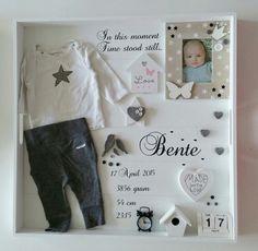 Een XL Geboortebord voor Bente