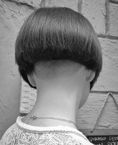 Nape Undercut, Undercut Hairstyles, Short Stacked Bobs, Short Bobs, Stacked Bob Hairstyles, Bob Haircuts, Shaved Nape, Hair Tattoos, Hair Dye Colors
