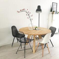 Interior Garden, Diy Interior, Interior Exterior, Interior Styling, Interior Design, Dining Room Inspiration, Home Decor Inspiration, Dining Area, Dining Table