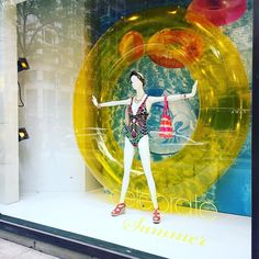 """MACY'S, Chicago, Illinois, """"Growing up is mandatory. Growing up is optional"""", photo by Kristin, pinned by Ton van der Veer"""