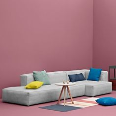 MAGS SOFA SOFT, with Inverted seams, Modular units (Fabrics version): create your own sofa, HAY - deco and design