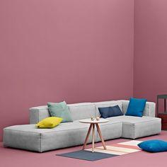 MAGS SOFA SOFT, mit Inverted Nähte, modulare Einheiten (Fabrics Versionen): erstellen Sie Ihre eigenen sofa, HAY - Deko und Design