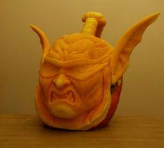 Ilidan - citrouille sculptée - pumpkin carving