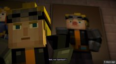 """""""Well... Not 'perfect'."""" #lukas #Minecraft #Storymode"""