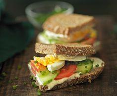 Sandwich di pane di segale