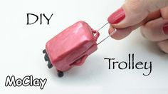 I will show you how to make a miniature travel trolley bag with wheels and retractable handle for your dollhouse. Have fun! SUBSCRIBE! http://goo.gl/Wu0qF1... More