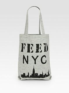 FEED - NYC Twill Woven Tote