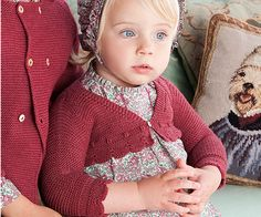 Ropa bebés - Colección Nanos Otoño - Invierno 2011 - 2012 Knitting For Kids, Baby Knitting Patterns, Baby Patterns, Kids Outfits, Cute Outfits, Spring Girl, Baby Kind, Knitwear, Knit Crochet