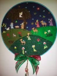 Resultado de imagen para MOGOLLAS DE NAVIDAD PASO A PASO Merry Christmas, Christmas Gifts To Make, Christmas Frames, Felt Christmas Ornaments, Christmas Sewing, Christmas Embroidery, Christmas Nativity, Christmas Love, Homemade Christmas