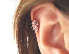 CZ Stud Piercing/Tragus Earring/Cartilage earring/Tragus stud /Tragus Piercing/CZ piercing/Helix Earring/conch earring/Delicate CZ earring