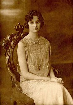 Astrid, princess of Sweden, crown princess of Belgium (1905-1935). Photo from the book ''Kronprinsessan Astrid'' (Stockholm, 1926)