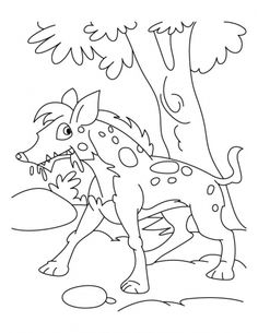Handsome jackal coloring pages | Download Free Handsome jackal coloring pages for kids | Best Coloring Pages