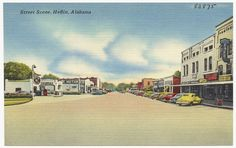 Street Scene - Heflin, AL