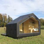 wooden tent minihaus Mini, Tiny House, Shed, Outdoor Structures, Lawn And Garden, Lean To Shed, Tiny Houses, Coops, Barns