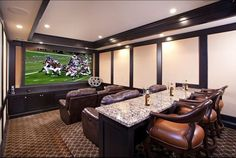 Top Images best Basement & Home Theater Ideas images on #basement ideas#   #Basement home theater ideas. See more ideas about Basement ideas, ... Dream home theater, I love to watch movies, so having something like this in my home