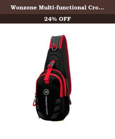 Wonzone Multi-functional Cross Body Chest Pack Hiking Cycling Bicycle Bag for Men & Women?Black?. Features: Fashion, multi-function and practical design, and comfortable to wear. Ideal for outdoor sports (hiking, camping, climbing, cycling, etc) and travel use . Suitable for both men and women. Very portable and convenient for assorting things. Specifications: Material: polyester and nylon. Gender: Unisex Length: 19cm/7.48inch; Height: 30cm/11.8inch; Wide: 10cm/3.94inch. Notice: The...